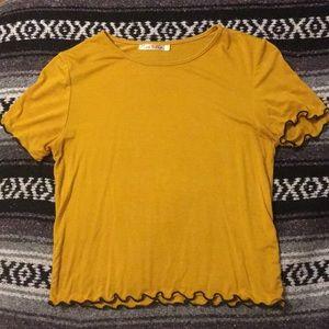 Cute yellow/mustard top
